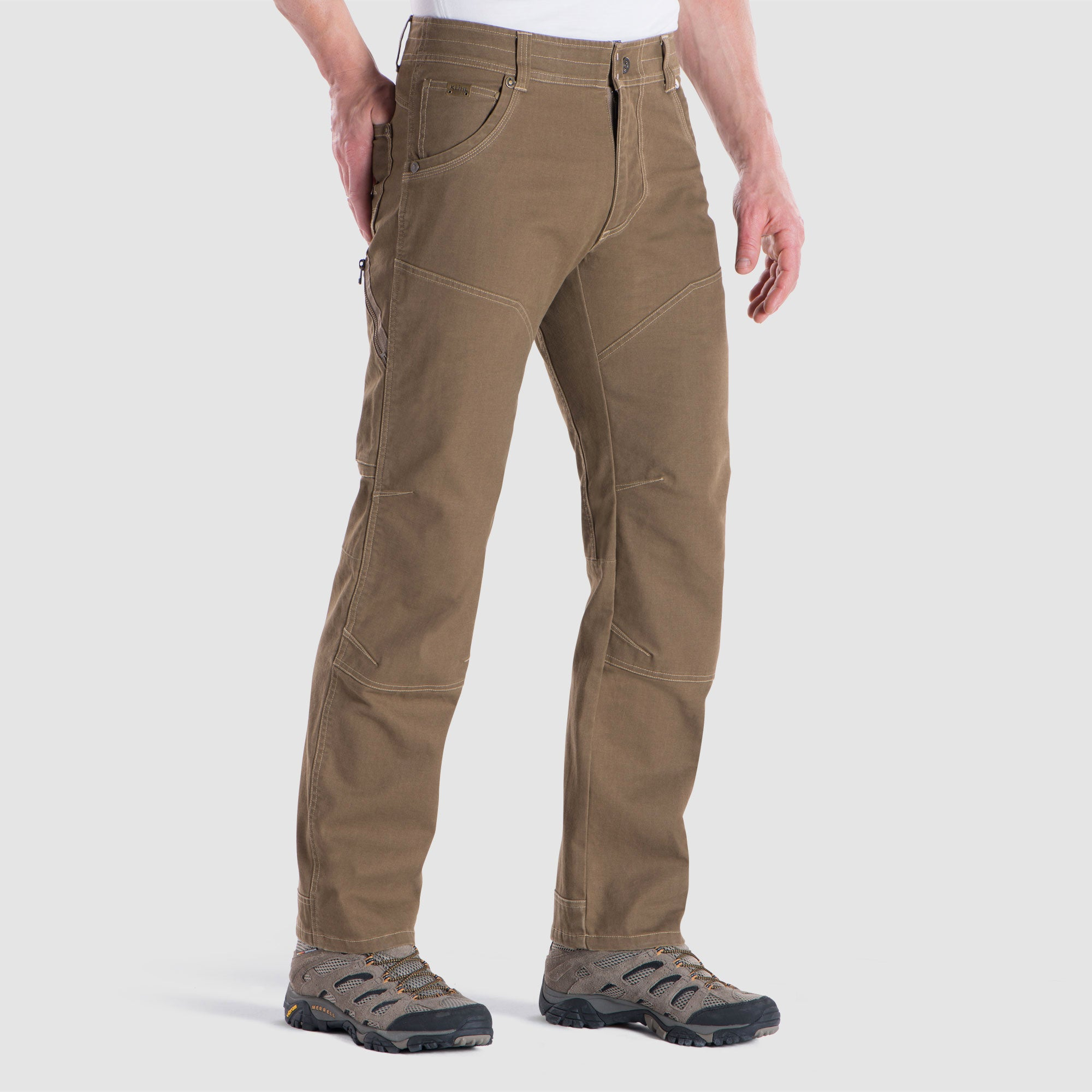 'Kuhl' Men's The Law Pants - Dark Khaki
