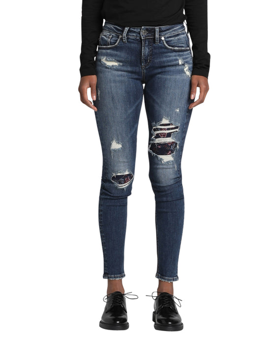 'Silver Jeans' Women's Avery High Rise Skinny - Indigo