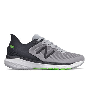 'New Balance' Men's Fresh Foam Stability - Aluminum / Black