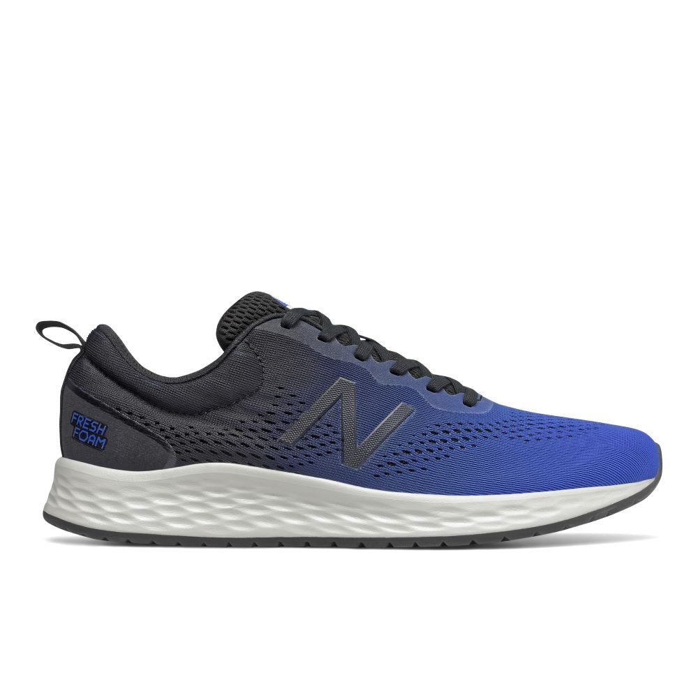 'New Balance' Men's Fresh Foam Arishi v3 - Grey / Blue