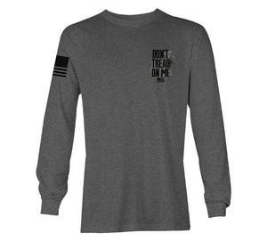 'Howitzer Clothing' Men's Never Tee - Graphite Heather