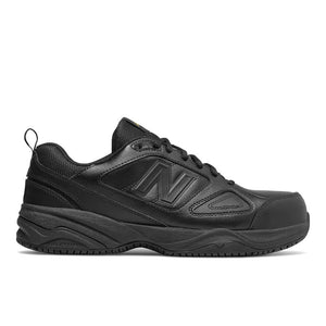 'New Balance' Men's Leather ESD Steel Toe - Black