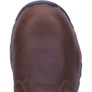 "'McRae' Women's 3"" Internal Metguard Comp Toe Slip-On - Brown"