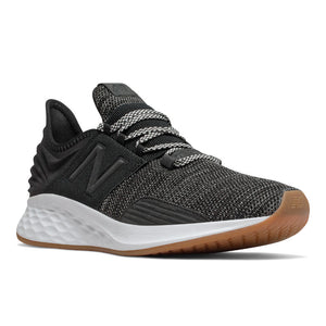 'New Balance' MROAVKB - Men's Fresh Foam Roav Knit  - Black / Fog