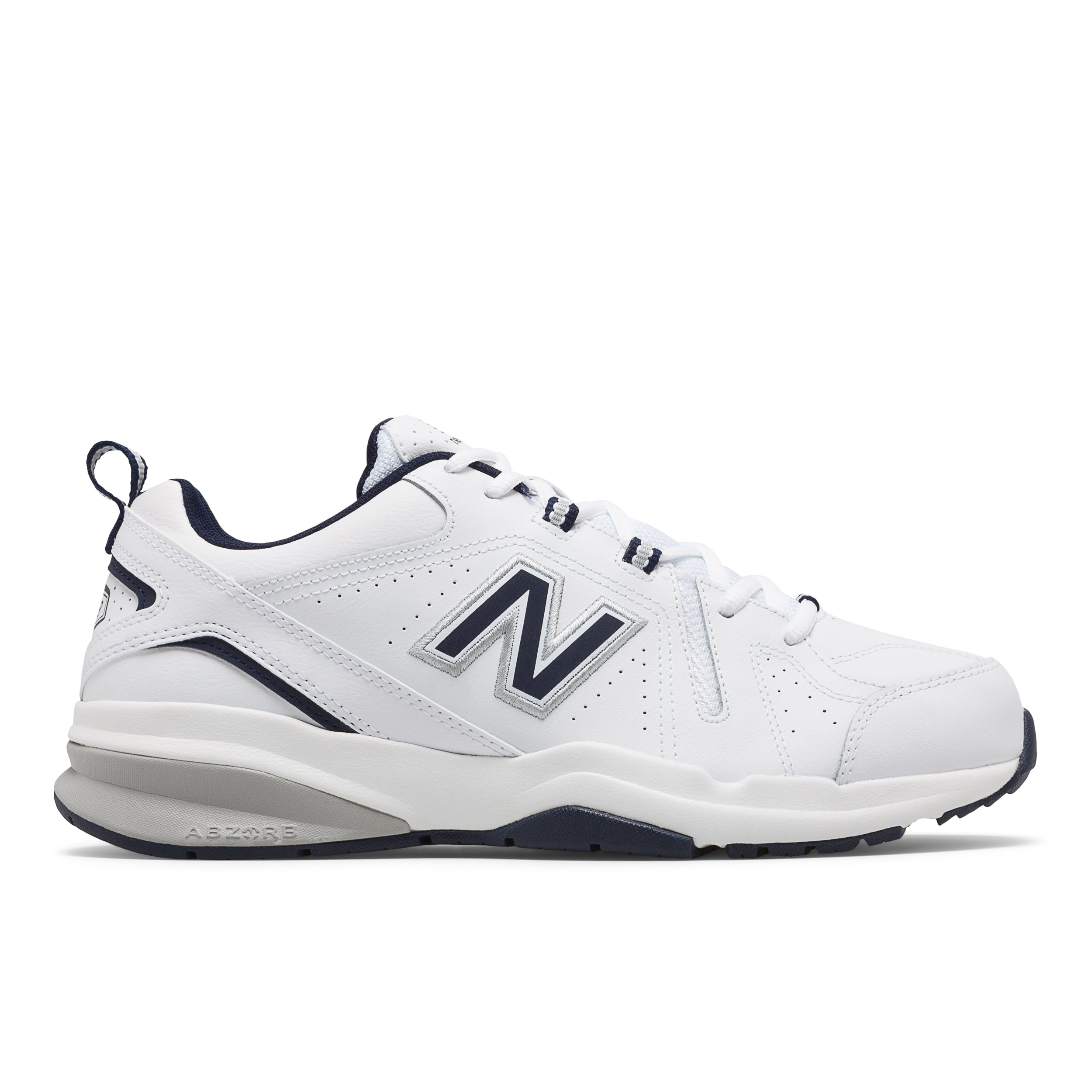 'New Balance' Men's 608v5 Trainer - White / Navy