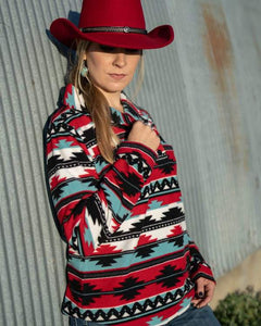 'Outback Trading' Janet Aztec Pullover - Multi