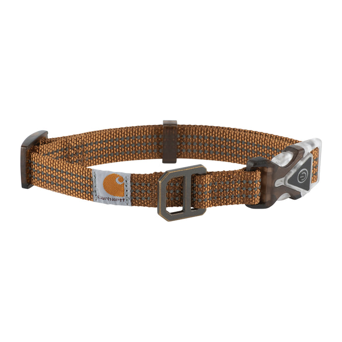 'Carhartt' Adjustable Lighted Collar - Carhartt Brown