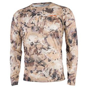 'Sitka' 10064-WL - Waterfowl Core Lightweight LS Crew - Marsh