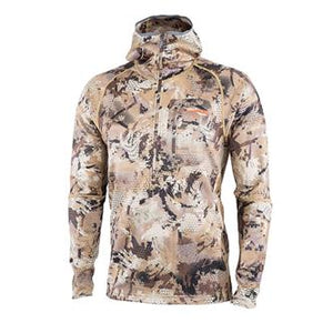 'Sitka' Men's Optifade Waterfowl Grinder Hoody - Marsh
