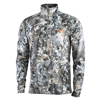 'Sitka' Men's Heavyweight Zip-T - Elevated II : Whitetail