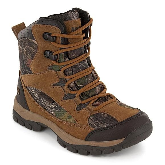 Renegade Waterproof 400 Gram Boot  - Brown / Camo