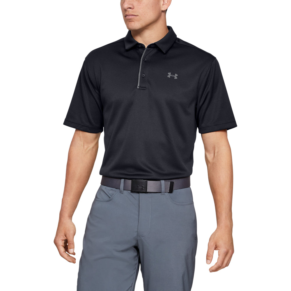 'Under Armour' Men's Tech Polo - Black