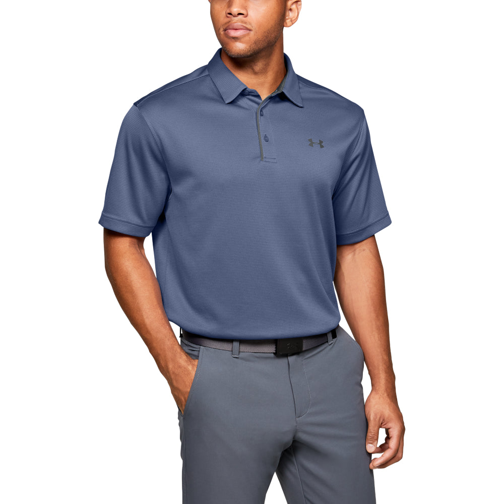 'Under Armour' Men's Tech Polo - Hushed Blue