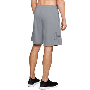 'Under Armour' Men's Tech Graphic Shorts - Steel