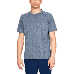 'Under Armour' Men's Tech 2.0 Tee - Academy / Steel