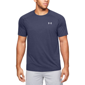 'Under Armour' Men's Tech™ 2.0 T-Shirt - Blue Ink / Purple Dusk