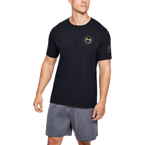 'Under Armour' Men's Freedom Flag Evade T-Shirt - Black