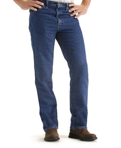 'Lee' Big & Tall Stretch Jean - Pepper Wash