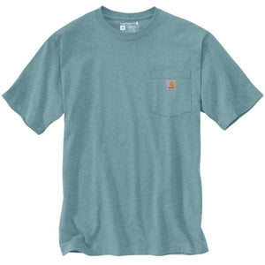 'Carhartt' Men's Workwear Pocket Tee - Tourmaline Heather