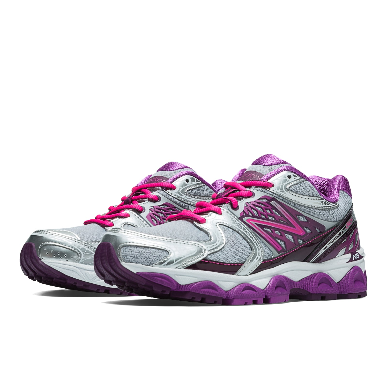 'New Balance' W1340SP2 - 1340v2 - Silver / Grey / Purple / Pink