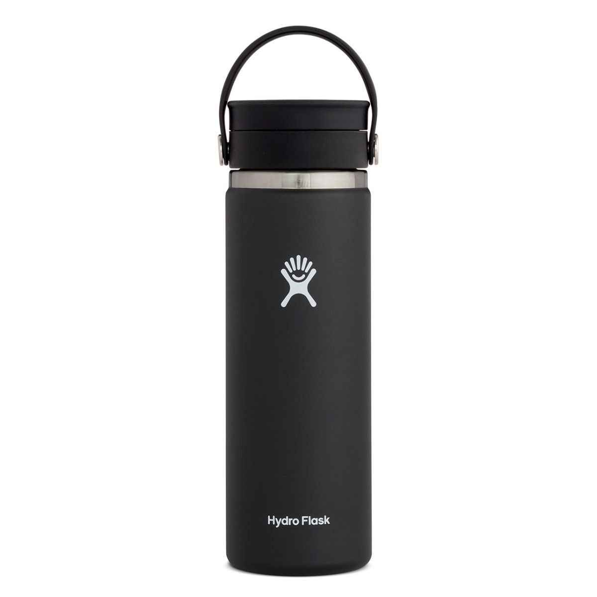 'Hydro Flask' 20 oz. Wide Mouth Sip - Black