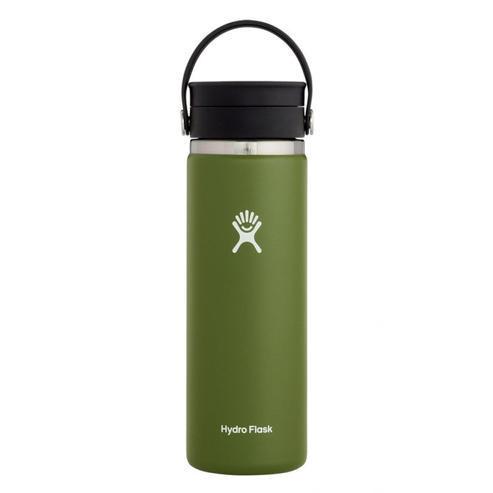 'Hydro Flask' 20 oz. Wide Mouth Sip - Olive
