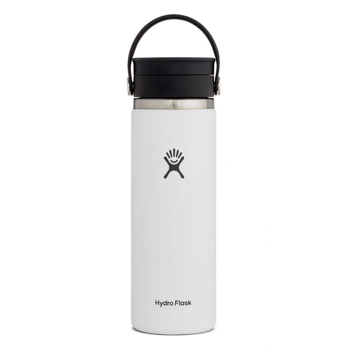 'Hydro Flask' 20 oz. Wide Mouth Sip - White