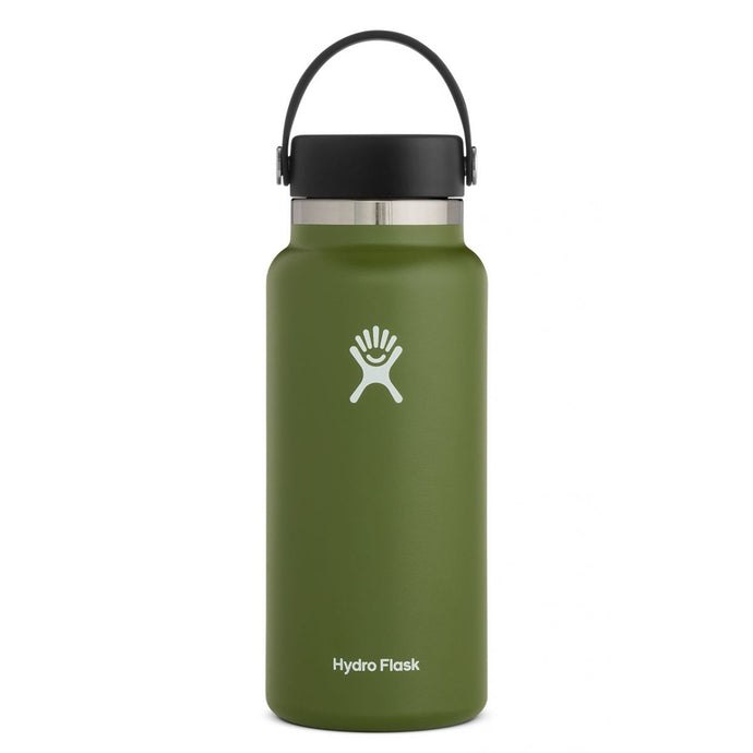 'Hydro Flask' 32 oz. Wide Mouth - Olive