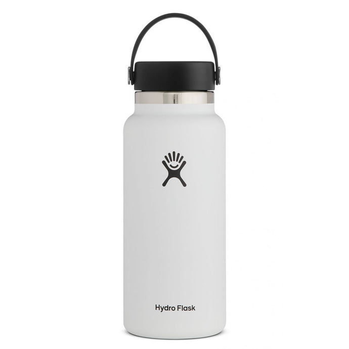 'Hydro Flask' 32 oz. Wide Mouth - White