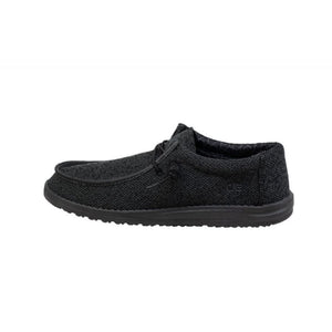 'Hey Dude' Men's Wally Sox Micro - Black