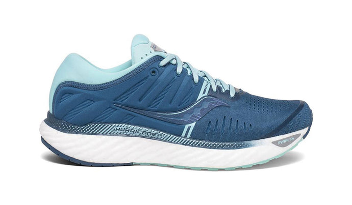 'Saucony' Women's Hurricane 22 - Blue / Aqua