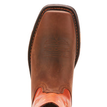 WorkHog Square Toe Cowboy Boot - Brown / Orange