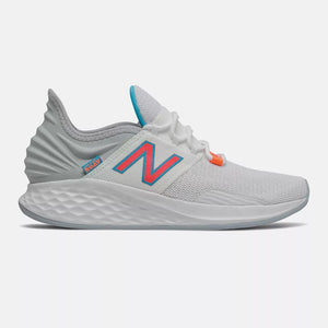"'New Balance' Women"" Fresh Foam Roav - White / Vivid Coral"