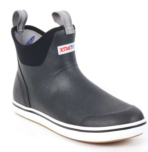 "'Xtratuf' Men's 6"" Ankle Deck Boot - Black"