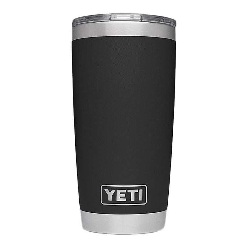 'YETI' 20 oz. Rambler Insulated Tumbler - Black