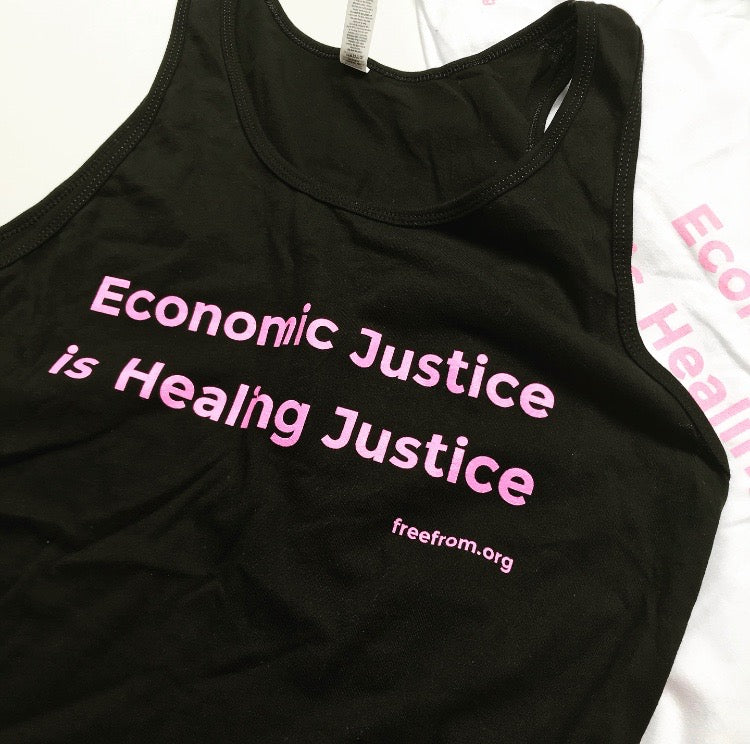 Economic Justice is Healing Justice Tank & Tee
