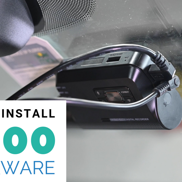 How To Install: Thinkware Q800PRO Dash Cam