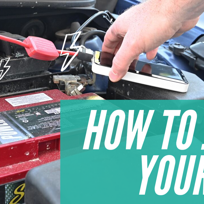 How To: Jump Your Car Battery