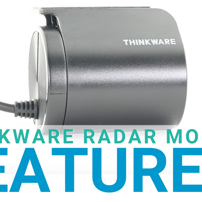 Thinkware Radar Module for Thinkware U1000 Dash Cam Feature Overview!