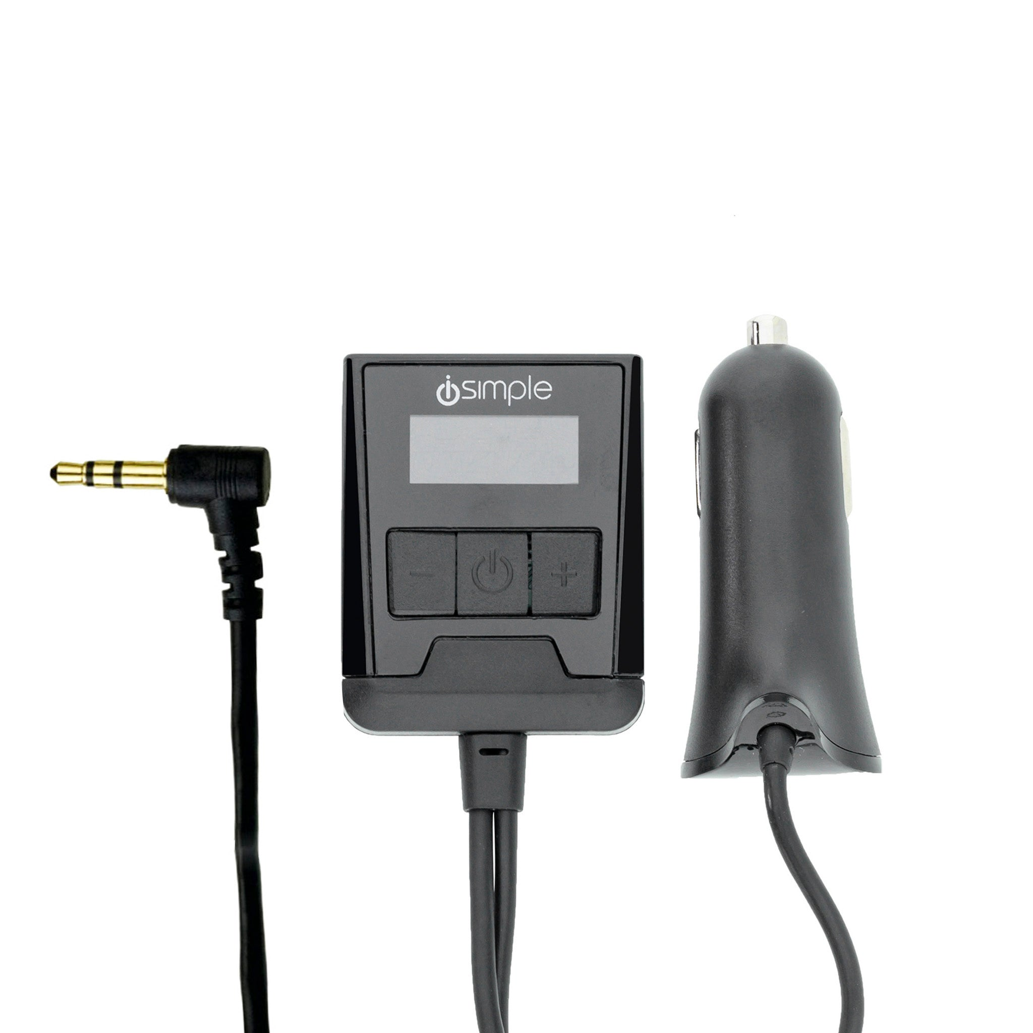 FM Transmitter With 3.5mm AUX Connector