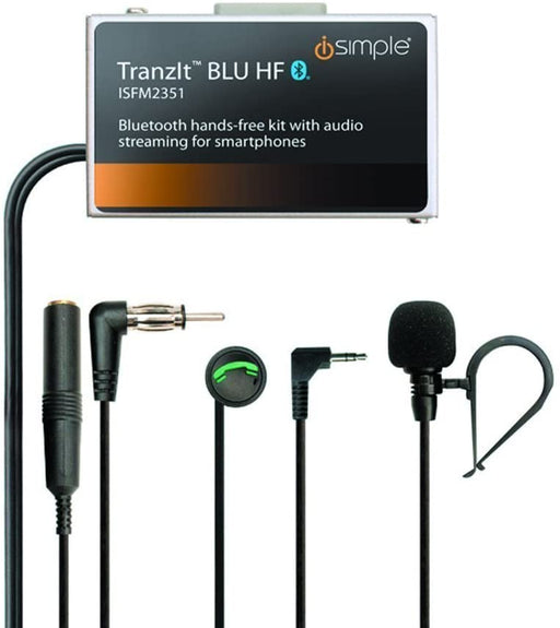 Install Kit For Hands-Free Calling And Music Streaming Through Car Audio