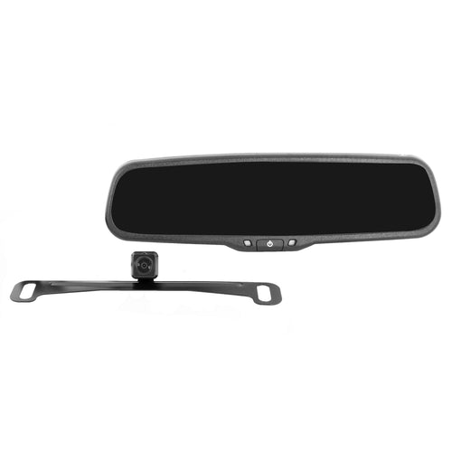 Backup Camera Kit with Replacement Rearview Mirror Monitor