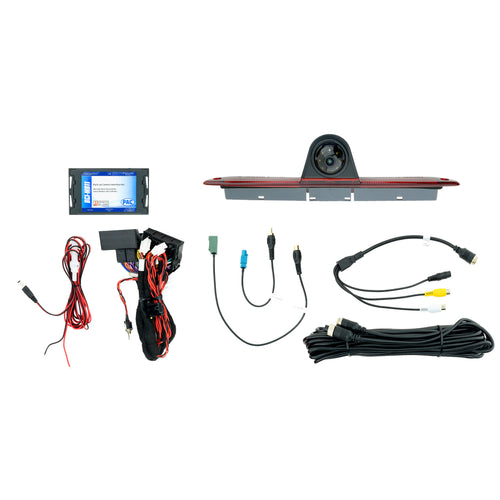 Third Brake Light Camera and T-Harness Kit for MB Sprinter Factory Monitor