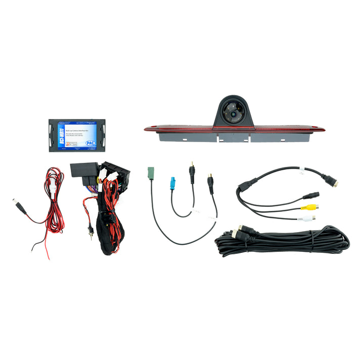 Mercedes-Benz Sprinter Backup Camera Kit With Third Brake Light And Plug-N-Play Interface