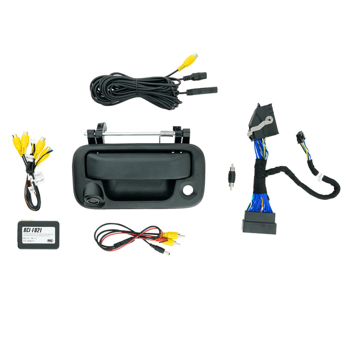 Tailgate Camera and T-harness Kit for Ford Factory monitor