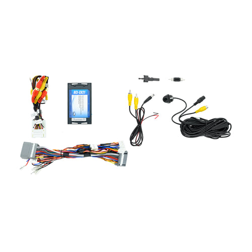 Lip Mount Camera and T-Harness Kit for CDJR Factory Monitor