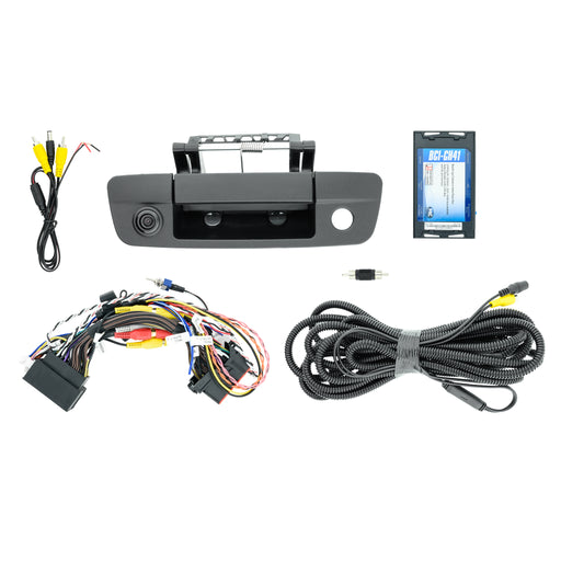 Tailgate Camera and T-Harness Kit for RAM factory Monitor