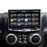 Jeep Wrangler JK Stereo Replacement System: 10-Inch Touchscreen Radio with Android Auto, Apple CarPlay, Bluetooth, GPS Navigation, And More