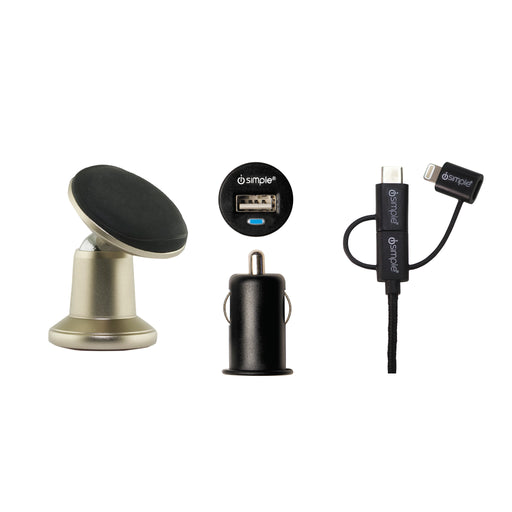 Universal Mount, Charging, And Streaming Kit For Your Car