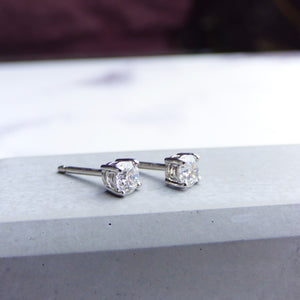 0.5ct Diamond Stud Earrings